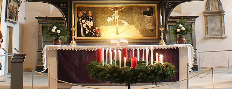 Altar der Stadtkirche, Copyright: Andreas Bechert